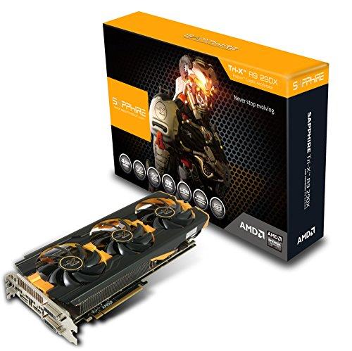 Sapphire Radeon R9 290X 4GB GDDR5 Dual DVI-D/HDMI/DP TRI-X OC Version PCI-Express Graphics Card 11226-12-21G