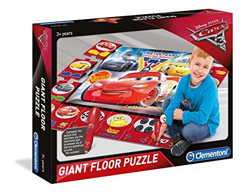 Clementoni 61749 Cars 3 - Puzzle Gigante para Suelo