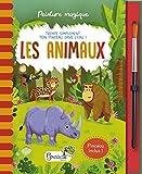 Les animaux - Avec un pinceau inclus