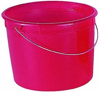 Encore Plastics 5160 Red Plastic Springform Pail, 5-Quart
