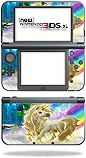 MightySkins Skin Compatible with New Nintendo 3DS XL (2015) Cover wrap Sticker Skins Unicorn