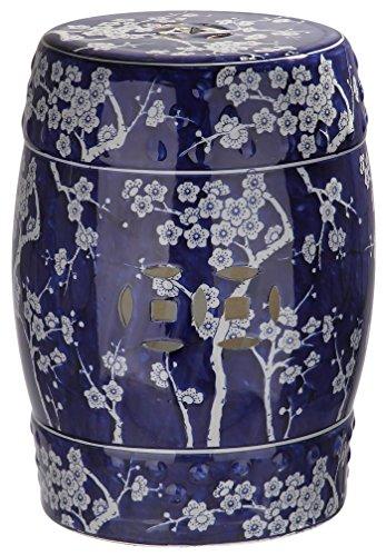 Safavieh Stuhl, Keramik, blau, 33 x 33 x 45.72 cm