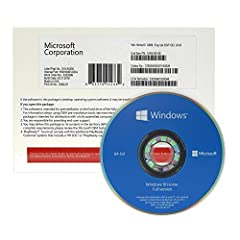 Windows 10 Home 64 bit will be delivered by Amazon courier in an official box on DVD disk. Instructions for installation of Windows 10 Home 64 bit Full version will be provided with the product. Windows 10 Home OEM package includes DVD disk, Activati...
