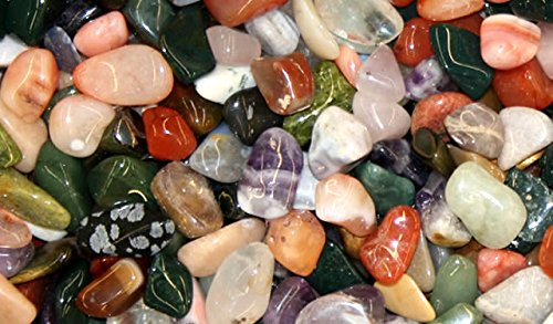 Amaryllis assortiment de pierres polies-couleurs mélangées-dimensions : env. 3 cm sachet de 500 g
