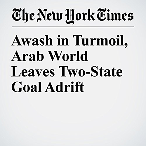 Awash in Turmoil, Arab World Leaves Two-State Goal Adrift copertina