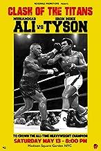 ALI vs Tyson Poster Muhammad Ali and Mike Tyson Fight Rare HOT New 24x36 24x36 Print B016214LJG