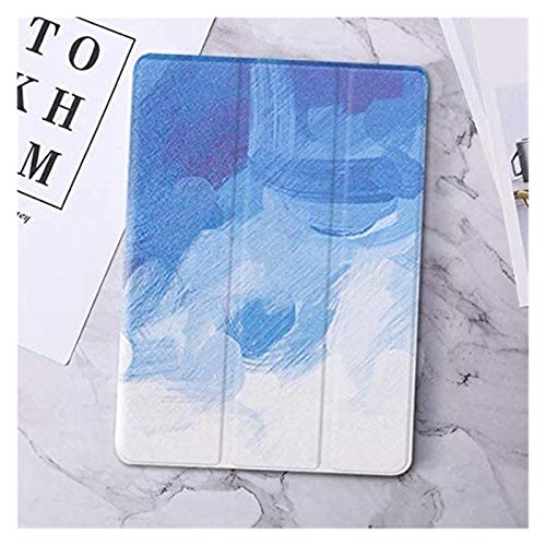 WSGYX Tab Accessories for IPad 11/9.7 2018 2017 5/6th 10.2 7th, Marble Leather Smart Cover for IPad 2 Air 1/2 Mini 1/2/3/4/5 Pro10.5/9.7 (Color : Suo cai nan, Size : Air1 2 new9.7 5th6th)