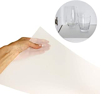 "Sterling Shelf Liners Value Pack Rigid Non-Adhesive Shelf Liner, Wall Cabinet (6PK): 10.65"" X 34.31"" -Transparent Clear"
