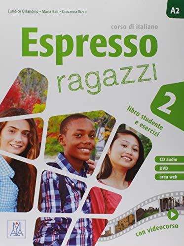 Espresso ragazzi. Corso di italiano. Con DVD-ROM (Vol. 2): Libro studente e esercizi + CD audio + DVD 2