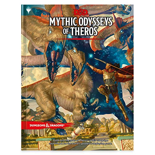 D&D RPG MYTHIC ODYSSEYS OF THEROS HC ALT CVR