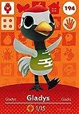 Nintendo Animal Crossing Happy Home Designer Amiibo Card Gladys 194/200 USA Version