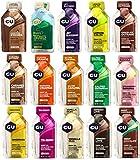 GU Paquete de prueba Energy Gel 15 variedades con 32 gramos cada uno.