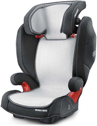 Recaro Kids, Monza Nova-Serie Air Mesh Bezug, Kinder Autositzbezug 15-36 Kg, Ausgezeichnete Luftzirkulation, wendbar aus Atmungsaktivem Mesh-Gewebe und Baumwolle