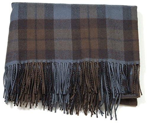 The Celtic Croft Outlander Blanket Premium Lambswool Tartan