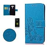 CaseHome Compatible for LG G5 Erhaben Klee Blume