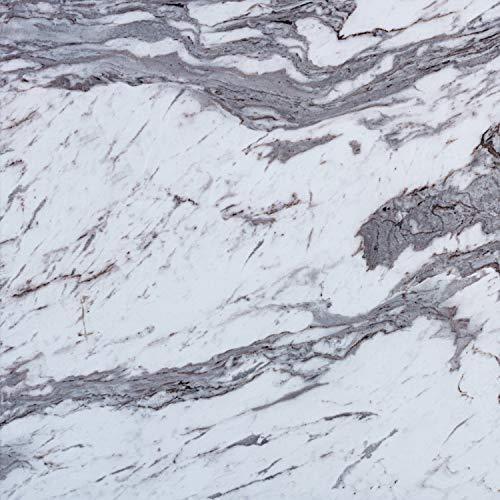 STILISTA® Vinyl Laminat in Steinoptik weiß-grau, 36 Fliesen a 457,2mm x 457,2mm = 7,5251 m², rutschfest, wasserfest, schwer entflammbar, schimmelbeständig