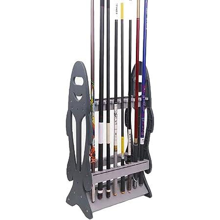 ロッドスタンド 16本 釣り竿 釣り竿ラック 釣り竿ディスプレイラッ組立式 フィッシング ロッド ク プラスチック製 取り外し可能