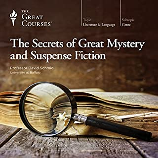 The Secrets of Great Mystery and Suspense Fiction                   By:                                                                                                                                 David Schmid,                                                                                        The Great Courses                               Narrated by:                                                                                                                                 David Schmid                      Length: 18 hrs and 56 mins     210 ratings     Overall 4.2