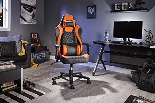X-Rocker 0700001 Delta Pro Serie IV - Silla de Oficina (tamaño XL), Color Naranja