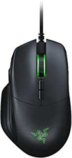 Razer Basilisk, Ratón con Cable para Juegos FPS, con Sensor Óptico de 16000 DPI, 5G, Interruptor DPI Extraíble y Rueda de Desplazamiento Personalizable, USB, Negro