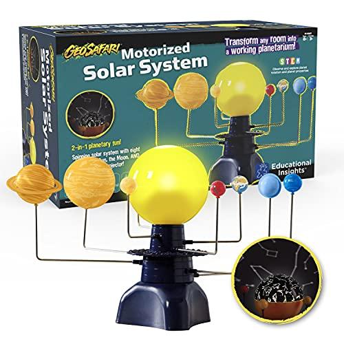 Educational Insights GeoSafari Motorized Solar System Toy, STEM Toy, Ages 8+