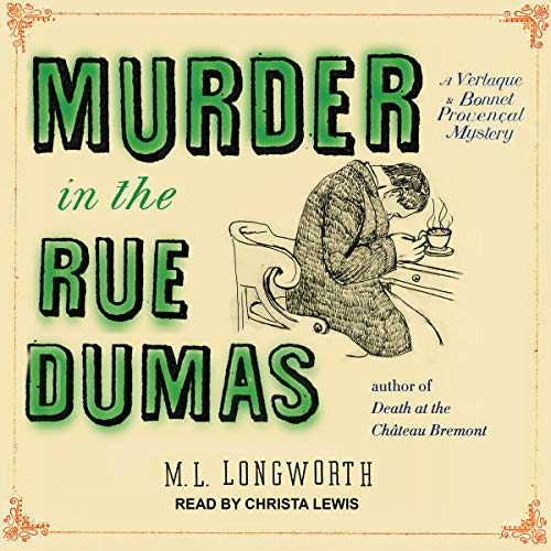 Murder in the Rue Dumas audiobook cover art