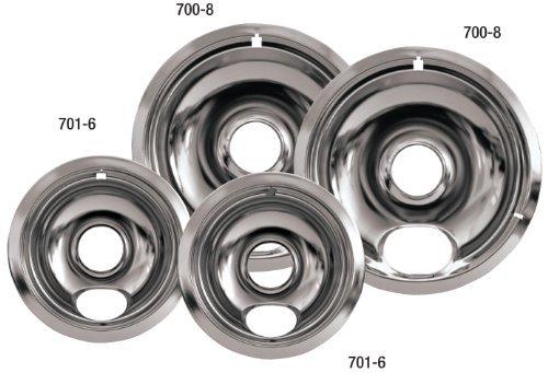 Stanco Universal Electric Range Chrome Reflector Bowls by Stanco