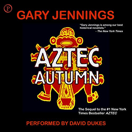 Aztec Autumn audiobook cover art