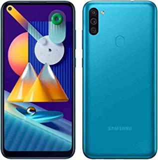 Samsung Galaxy M11 Dual SIM 32GB 3GB RAM 4G LTE (UAE Version) - Metallic Blue - 1 year local brand warranty