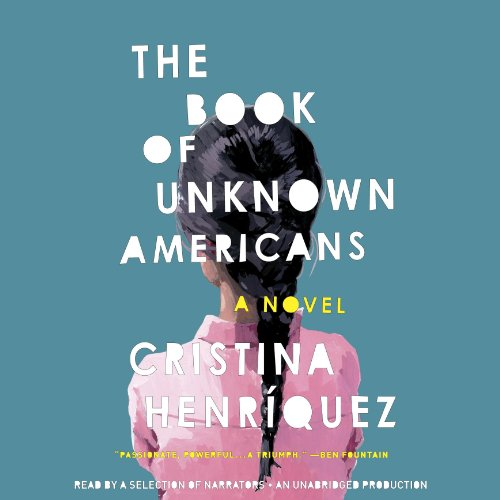 The Book of Unknown Americans audiobook cover art