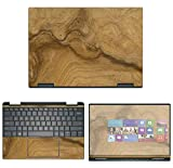 Decalrus - Protective Decal Wood Burl Skin Sticker for Dell XPS 13 7390 2-in-1 (13.3' Screen) case Cover wrap DellXPS-7390-2in1-172