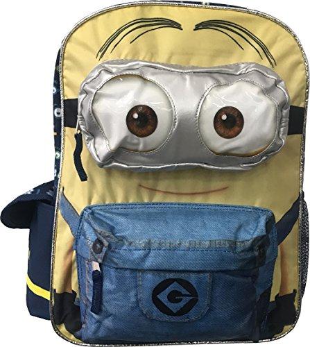 Universal Minion 16' Bob Kevin Stewart Backpack for Kids Back to School Bag - Regular (Style 3)