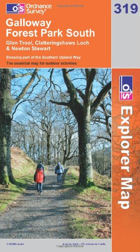 OS Explorer map 319 : Galloway Forest Park South
