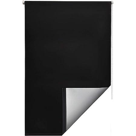 Sol Royal SolReflect T42 Store Enrouleur Occultant et Isolant Thermique Montage Simple sans vis 55x160 cm Noir