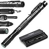 BIIB Geschenke für Männer, Taktischer Stift mit Kompass Gadgets für Männer, adventskalender männer 2020, Coole Werkzeug Kleine Geschenke für Papa Opa, Vatertagsgeschenk, Frauen Männer Geschenke