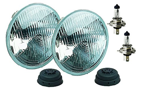 HELLA 002395801 Vision Plus 165mm 12V High/Low Beam Halogen Conversion Headlamp Kit (H4 ECE)