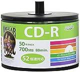 磁気研究所 HIDISC CD-R データ用 52倍速 エコパック HDCR80GP50SB2 1パック(50枚)