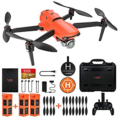 Autel Robotics EVO 2 Pro Drone 6K HDR Video for Professionals Rugged Bundle with £398 Value Accessories Kit from Autel