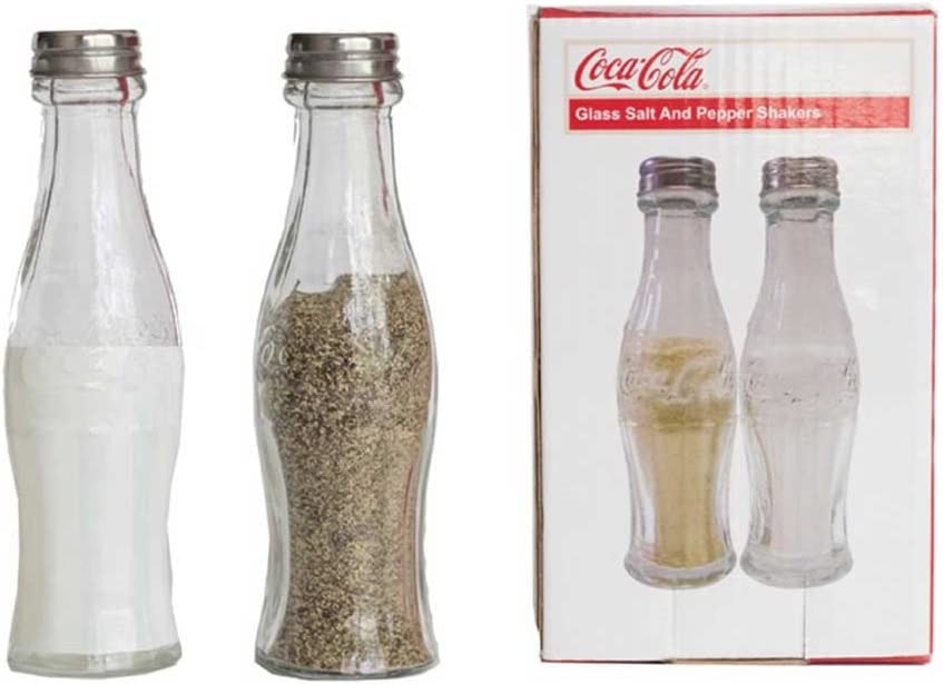 Vintage like Coca Cola salt and pepper shakers