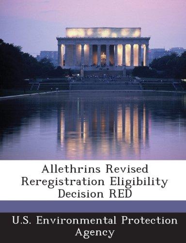 Allethrins Revised Reregistration Eligibility Decision Red