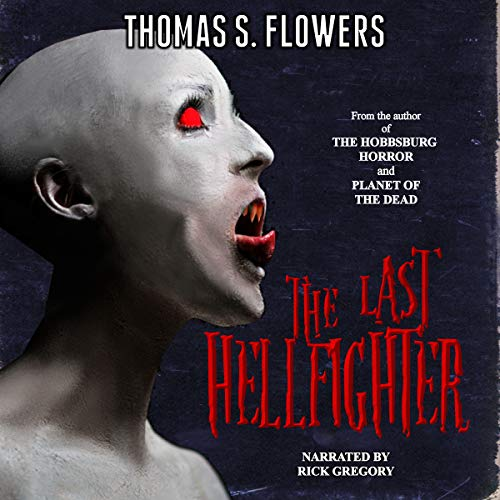 The Last Hellfighter audiobook cover art