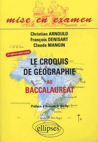 Le croquis de géographie au baccalauréat