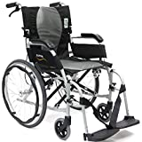 Karman Healthcare 19.8 lbs Ergonomic Ultra Lightweight Wheelchair,...