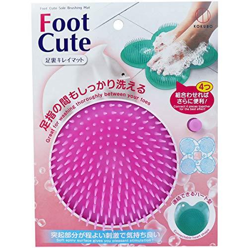 小久保工業所 Foot Cute 足裏キレイマット ピンク KH-056 1個