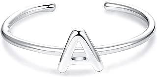 mens sterling silver initial rings