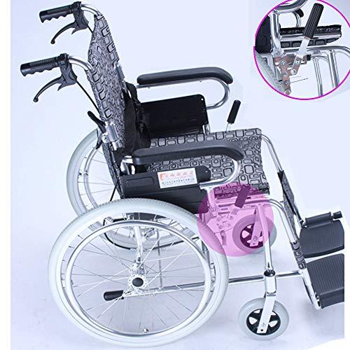 Aluminium rolstoel ultralichte rolstoel lichte inklapbare rolstoel van draagbare transportstoel