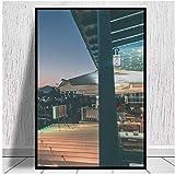 Lienzos nocturnos de Lanzarote Matagorda, decoración de pared, impresiones artísticas y carteles para el hogar de la sala de estar, 60x90 cm x1 sin marco