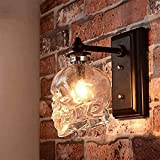ZJJZ Lámpara de Pared LED Skull Bones Clear Ghost Skull Luces de Pared Antiguas E14 Antigüedades Industria Calavera Botella de Vino Aplique Luz Cabeza de Calavera Lámpara de Pared Dormitorio Arte