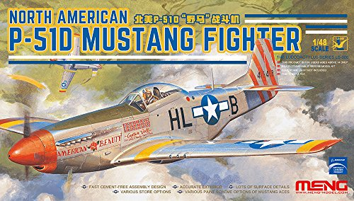 MENG LS-006 Modelo 1: 48 – North American P-51D Mustang Fighter