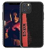 Yeezy 350 Sportschutzhülle für Apple iPhone11|iPhone11Pro|iPhone11Pro Max, Schwarz + Rot)